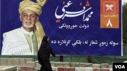 Afg'onistonning amaldagi Prezidenti Ashraf G'ani saylovda navbatdagi muddat uchun kurashadi. Kobul, Afg'oniston, 28-iyul, 2019.