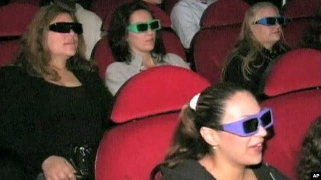 Research Shows 3-D Movies, TV Can Cause Eye Strain, Headaches