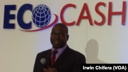 Mukuru weEconet Wireless Zimbabwe VaDouglas Mboweni vachiparura chirongwa che Eco-Cash