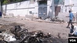 Wanamgambo wa al-Shabaab wamekuwa wakifanya mashambulizi kadhaa mjini Mogadishu, Somalia.