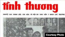 Bìa báo SVYK Tình Thương số 29 phát hành tháng 5 - 1966.