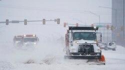 Snežno nevreme širom SAD