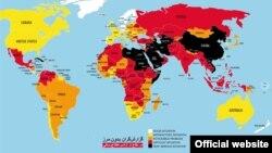 یک هفته پیش گزارشگران بدون مرز وضعیت ایران در آزادی مطبوعات را تیره گزارش کرده بود.