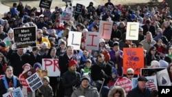 Акция против легализации абортов. Вашингтон, округ Колумбия. 22 января 2013 года