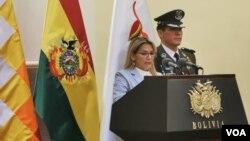 La presidenta Jeanine Añez dijoque su país necesita una apertura comercial e incrementar las inversiones.