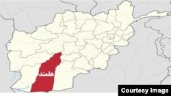 Helmand Map