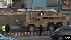 Əfqanıstanda hərbi maşın karvanı hədəf alınıb