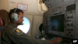 I澳大利亞獵戶座P3海上巡邏機星期三在印度洋搜索