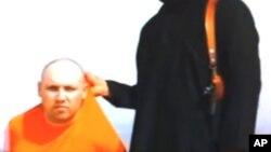 Phóng viên Steven Sotloff bị bắt tại Syria vào tháng 8 năm 2013.