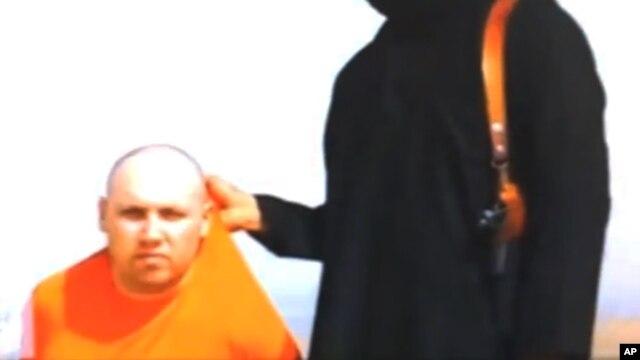 又一个美国记者被斩首视频出现