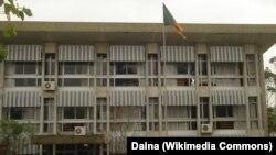 L'université de Buea, au Cameroun, le 13 mars 2006.
