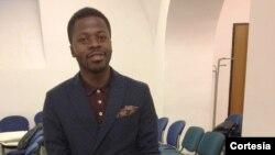 Adão Agostinho, estudante de mestrado no curso de Relações Internacionais na Universidade La Sapienza, Itália.