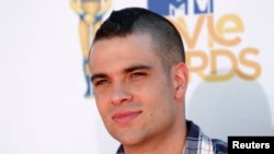 El actor Mark Salling, de la serie de TV 'Glee' en los premios MTV Movie Awards 2010. Los Angeles, California. (Reuters/Danny Moloshok)