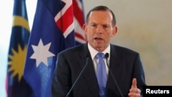 PM Australia Tony Abbott meminta para pejabat negara untuk mempertimbangkan kembali langkah keamanan baru di Gedung Parlemen, yang memisahkan perempuan-perempuan Muslim bercadar dengan para pengunjung lain (Foto: dok).