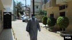 Rue quasi déserte à Dakar, pendant la nouvelle pandémie de coronavirus. (Capture d'écran)
