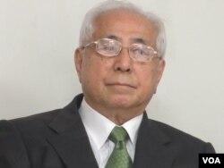 前台獨聯盟主席、台灣前駐日代表許世楷(美國之音張永泰拍攝)