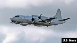 美国海军EP-3侦察机(资料照片)