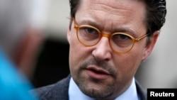 Hıristiyan Sosyal Birlik Partisi'nin (CSU) Genel Sekreteri Andreas Scheuer