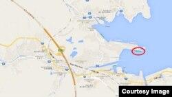 유엔 회원국 입항이 금지된 북한 선박 '룡림(Ryong Rim)' 호(붉은 원)가 일본에 입항한 것으로 확인됐다. 사진 출처 = '마린 트래픽(MarineTraffic)' 웹사이트.