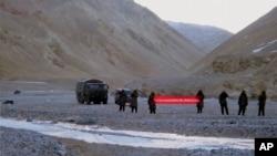 中國與印度邊界軍事對峙(2013年5月5日資料照片)