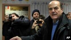 Lider koalicije levog centra Pjer Luiđi Bersani