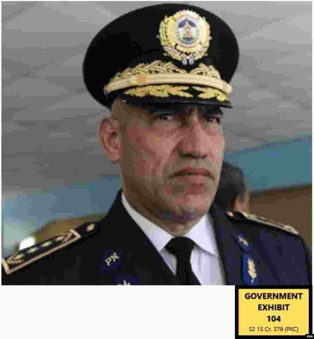 El Tigre Bonilla, oficial de policía hondureño. Según El Rojo, Tony Hernández se refería a él como una persona de mucha confianza para él y para el presidente Juan Orlando Hernández. Lo calificaba como una persona muy violenta que podía cometer asesinatos. VOA