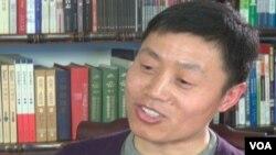 中國獨立作家、紀錄片製作人杜斌(網絡截圖)
