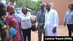 Reportage de Lamine Traoré, correspondant à Ouagadougou pour VOA Afrique