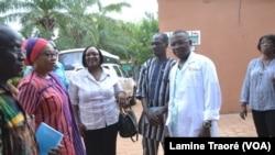 Centre médical protestant Schiphra Ouaga, à Ouagadougou, au Burkina, le 21 octobre 2018. (VOA/Lamine Traoré)