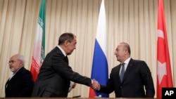 Ministri inostranih poslova Rusije i Turske, Sergej Lavrov i Mevlut Čavušoglu