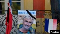 ကြပ္မ်က္ခံလိုက္ရတဲ့ ျပင္သစ္လူမ်ိဳး Herve Gourdel။ (စက္တင္ဘာ ၂၅၊ ၂၀၁၄)