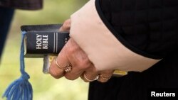 FILE - Lawmakers in Tennessee are looking to make the Bible the state's official book.