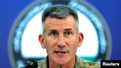 Panglima pasukan Amerika di Afghanistan, Jenderal John Nicholson (Foto: dok).