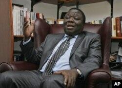 The late Morgan Tsvangirai