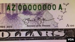 La firma del secretario Lew fue objeto de burlas y bromas en las redes sociales.