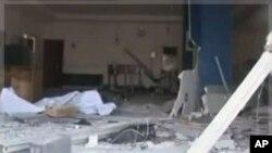 尼日利亚官方电视台11月6号公布图像显示,该国发生一系列爆炸事件