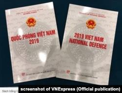 Sách trắng Quốc phòng Việt Nam được công bố hôm 25/11/2019