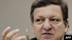 Chủ tịch Ủy ban châu Âu (EC) Jose Manuel Barroso