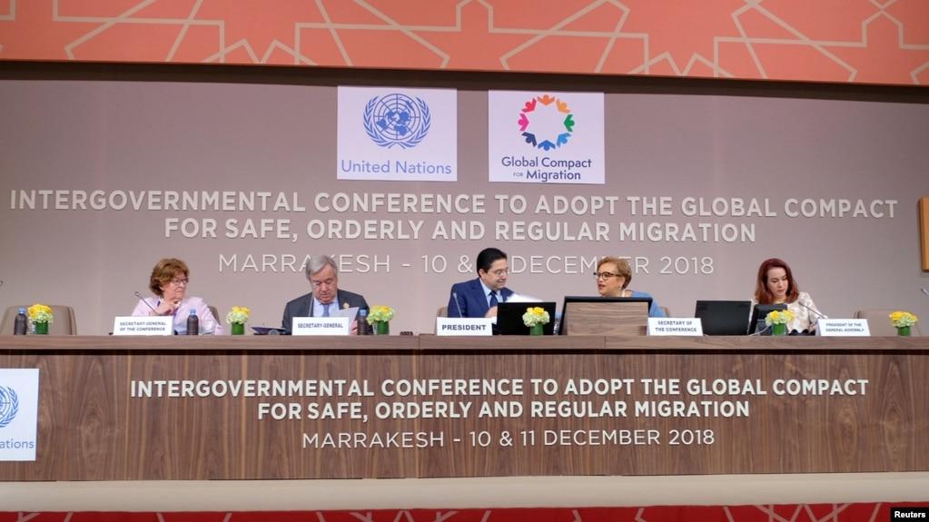 150 vende miratojnë paktin e OKB për migrimin