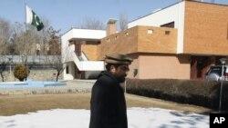 کابل میں پاکستانی سفارت خانے کی عمارت (فائل فوٹو)
