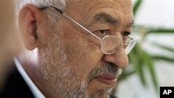 ຜູ້ນຳພັກສາສະໜາອິສລາມ Ennahdha ທ່ານ Rachid Ghannouchi