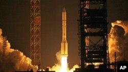 Запуск ракетоносителя «Протон-М»