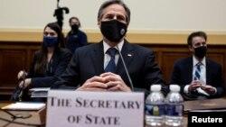 Ngoại trưởng Antony Blinken điều trần tại Hạ viện Mỹ hôm 10/3.