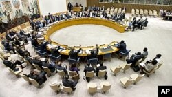 UN Security Council meeting (file photo)