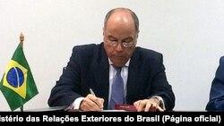 مائورو وییرا، وزیر امورخارجه برزیل