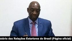 Oldemiro Balói, ministro dos Negócios Estrangeiros e da Cooperação