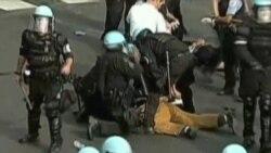2012-05-21 粵語新聞: 北約峰會間芝加哥警方拘捕示威者