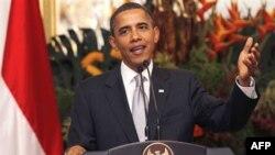 Президент США Барак Обама . Джакарта. Индонезия. 9 ноября 2010 года