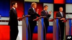 در مناظره پنجشنبه شب، سه نامزد علیه ترامپ حملات شدیدی کردند و او پاسخ داد.