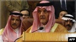 Ngoại trưởng Ả Rập Xê út Saud al-Faisal tham dự một cuộc họp của Liên đoàn Ả rập thảo luận về vấn đề Syria tại Cairo